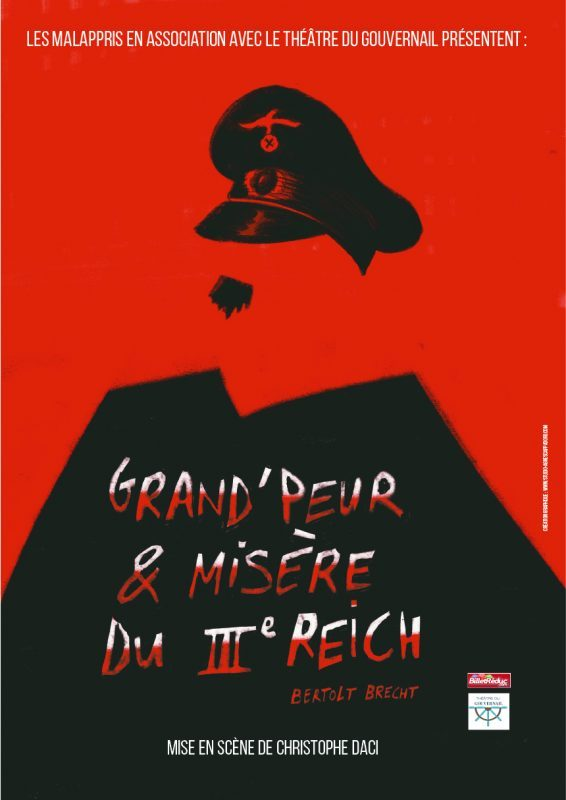 AFFICHE_SPECTACLE_GRAND'PEUR & MISERES DU IIIe REICH