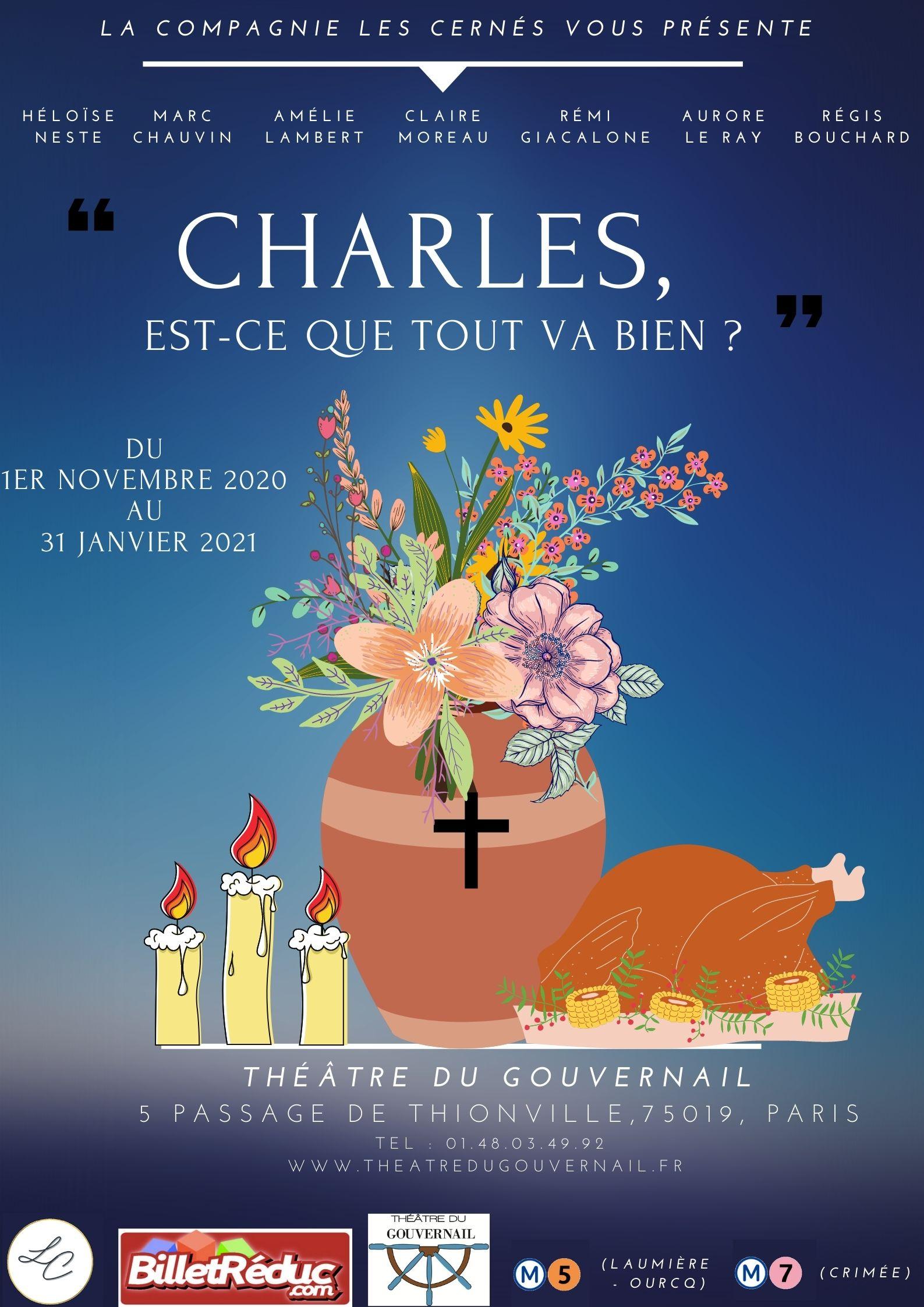 Affiche Charles, est-ce que tout va bien ?