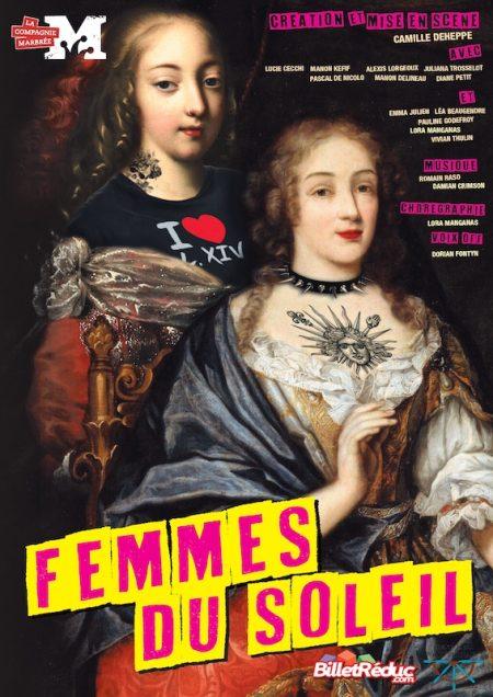 FEMMES AU SOLEIL AFFICHE SPECTACLE